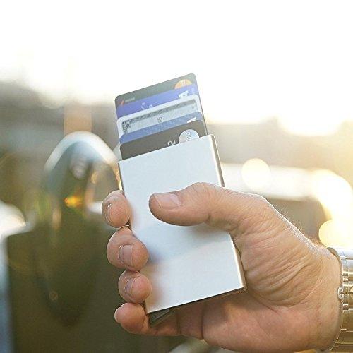 U.S. CROWN Silver Credit Card Case
