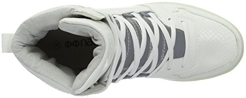 Nat-2 Unisex-Erwachsene LED Cube High-Top Weiß (WHITE SNAKE)