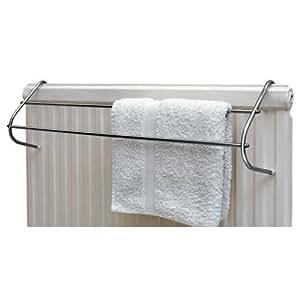 chrome radiator towel rail diy tools. Black Bedroom Furniture Sets. Home Design Ideas