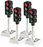 PEARL LED Ampel: LED Verkehrsampel 4er-Set (Mini Ampel)