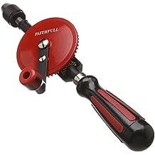 Faithfull HANDDRILL Perceuse manuelle Double pignon Diamètre de perçage : 8 mm (Import Grande Bretagne)