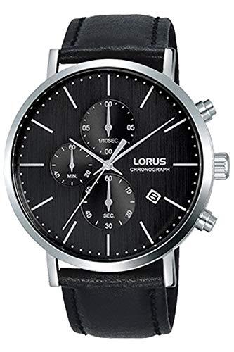 Lorus Classic Reloj para Hombre Analógico de Cuarzo con Brazalete de Piel de Vaca RM317FX8