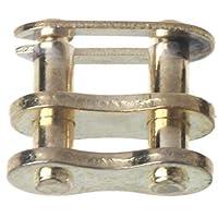 Qiman Motorrad Kettenschloss Ring Link 25H # T8F # 420# 428# 520# 530# (25H#, Gold)