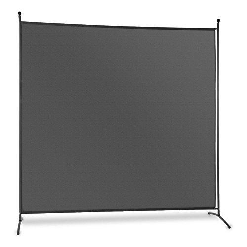 Blumfeldt Brindisi • Sichtschutz • Paravent • Raumteiler • Polyester-Tuch • 180 x 180 cm...
