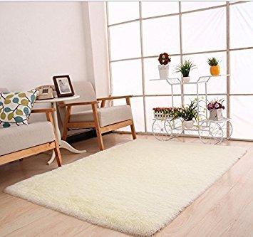 Ulooie tappeto per sala da pranzo, camera da letto (beige)