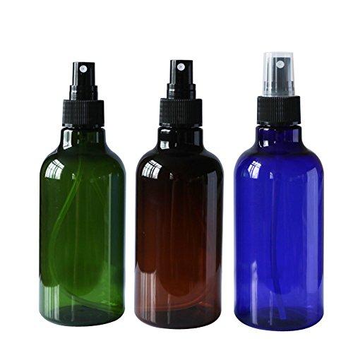 2 pièces de 250 ml (9 oz) rechargeables Flacon avec vaporisateur en plastic vides Contenants avec bouchon Flacon atomiseur cosmétique de maquillage Accessoires de voyage étanches