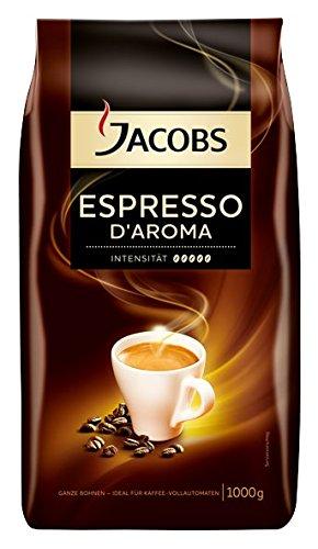Preisvergleich Produktbild Jacobs Espresso D'Aroma ganze Bohne, 1 kg