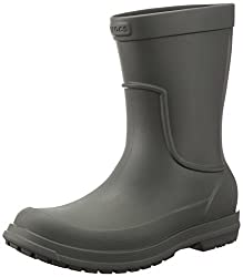 crocs Mens Allcast M Rain Boot, Dusty Olive/Dusty Olive, 8 M US