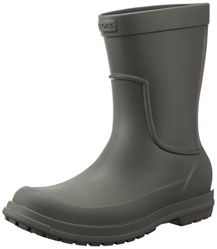 Crocs Allcast Rain Boot Men, Green Dusty Olive, 12 Uk (13 Us)