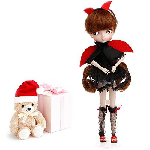 Kofun BBGIRL Kinder Mädchen Puppe Sammlung Abbildung mit großen Augen Schöne Gils Rozen Maiden Cartoon Puppe Spielzeug Kinder Geburtstag Weihnachten Valentinstag Geschenk 40x9 cm