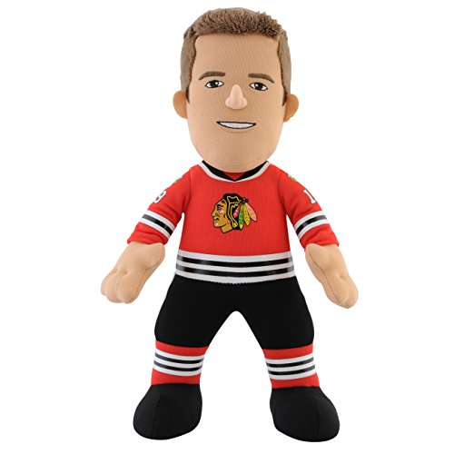 "Chicago Blackhawks NHL 10"" Plush Doll: Jonathan Toews Bleacher Creature"