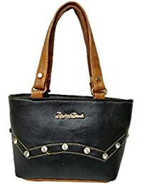 Women's Leather Sling Bag (Black)