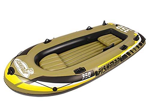 LIBINA 3 4 5 Bote Inflable para 2 Personas con Remos Y Bomba De Aire Caucho Engrosado Pesca Plegable Gente Eléctrico Deriva Kayak De Gas