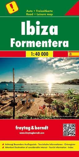 Ibiza - Formentera, Autokarte 1:40.000, besondere Ausflugsziele: Toeristische wegenkaart 1:40 000 (freytag & berndt Auto + Freizeitkarten)