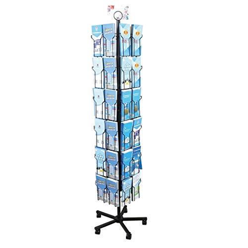 Seitige Buch Display Stand (LQQFF Klappbodenständer Datenrahmen-Displayständer Drehbarer Farbseitenrahmen-Displayständer for Grußkarten Prospektständer)