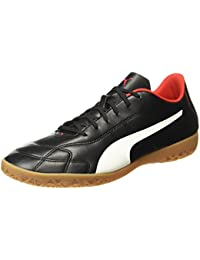 Puma Men's Classico C It Black-White-High Risk Red Football Boots