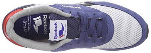 ReebokRoyal Classic Jogger - Scarpe Running Bambino Blau (Midnight Blue/White/Black/Motor Red/Tin Grey)