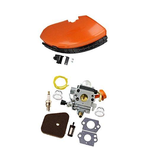 MagiDeal Kit Profesional De Carburador De Repuesto Stihl Y Protector De Desbrozadora