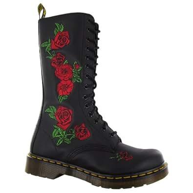 Dr.Martens Vonda Black Womens Boots Size 4 UK