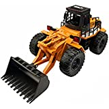 Excavadora Buldozer RC 1:14 6CH   20 Minutos   Lista para Funcionar   Juguetes RadioControl