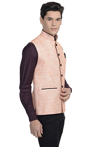 Wintage - Gilet - Homme Orange - Pinkish Beige