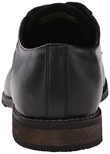 Nunn Bush Holt Cap Toe Large Cuir Oxford Black