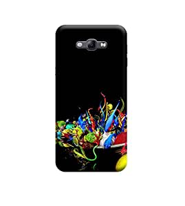 Ebby Premium Designer Back Cover for Samsung A8 (Designer Case)