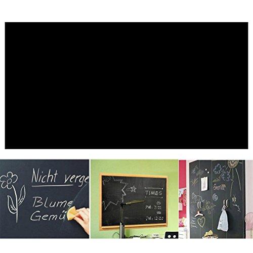 ULTNICE Tafel Papierrolle Wasserdichte abnehmbare Tafel Wallpaper Bettwäsche Kreide Brett Abziehbild 45 * 200cm