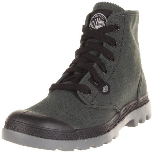 Palladium Pampa Hi Lite 92667-068-M, Sneaker, Uomo, Nero/Grigio, 40.5 EU / 7 UK