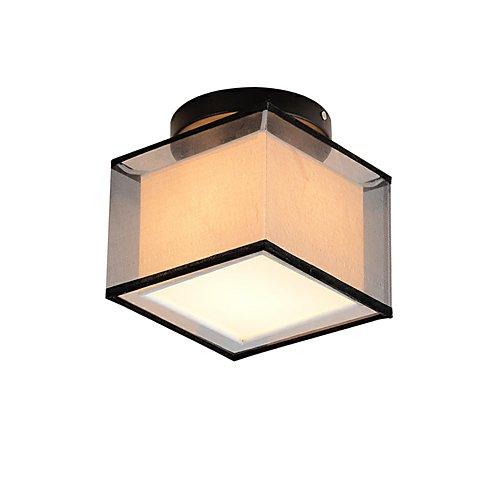 LED Plafond lampe carré moderne simple plafonnier encastré lumières entrée couloir salle de jeux luminaire