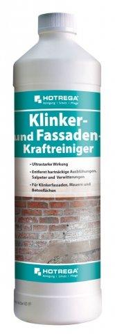 HOTREGA Klinker- und Fassaden-Kraftreiniger 1 L