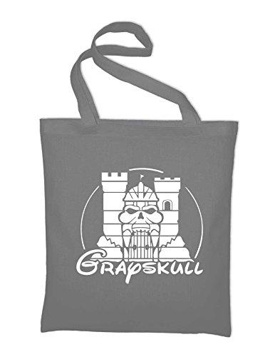 Castello Grayskull Fun Jutebeutel Grigio Chiaro