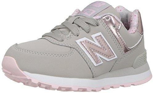New Balance 574, Sneaker Unisex-Bimbi Grey
