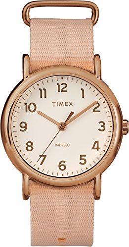 Timex Femme Analogique Classique Quartz Montre avec Bracelet en Nylon TW2R59600