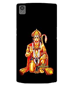 Fuson Designer Back Case Cover for OnePlus X :: One Plus X (Pawan Putra Gadadhari Shri Ram Vaanra)