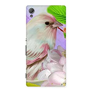 NEO WORLD Remarkable Spring Bird Back Case Cover for Xperia Z3 Plus