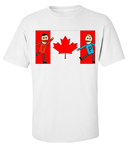 terrance-and-phillip-south-park-canada-cartoon-t-shirt-homme-blanc-m