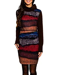 SMASH Yuma Vestido Con Cuello Alto-A1682321, Robe Femme