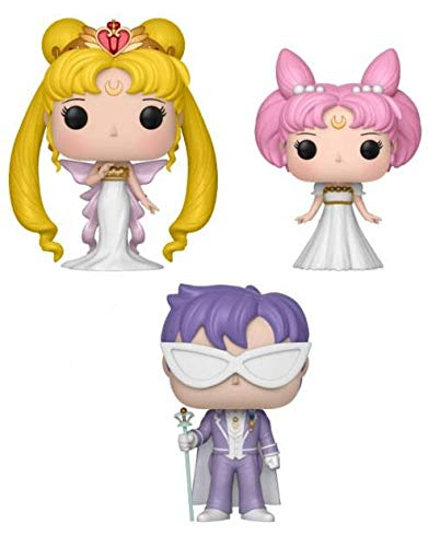 Funko Set 3Figuren Pop Sailor Moon Queen Serenity Small Lady King Endymion Exclusive