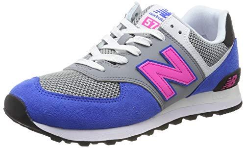New Balance Herren ML574P Sneaker, Blau (Vivid Cobalt), 47.5 EU