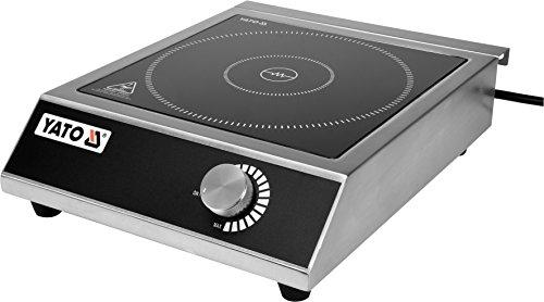 YATO Profi Gastro Induktionskochplatte 3500 Watt Edelst… | 05906083004162
