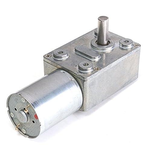 Bluelover Gw370 Metall Getriebe Schneckengetriebe Dc Motor Hochdrehmoment 12V Dc 25Rpm