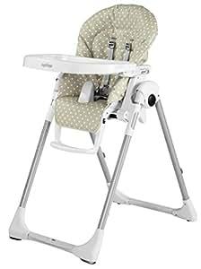 peg perego prima pappa zero3 chaise haute beige pois b b s pu riculture. Black Bedroom Furniture Sets. Home Design Ideas