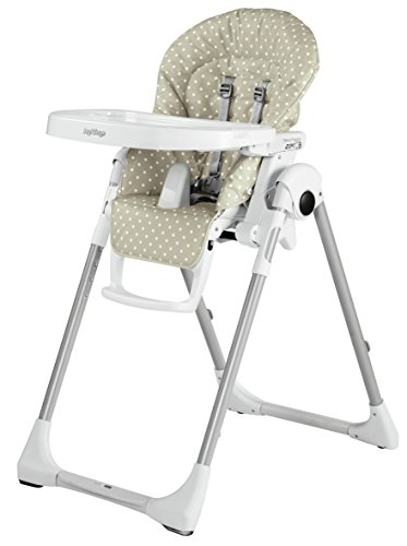 Peg Perego Prima Pappa Zero3 Chaise haute Beige/pois