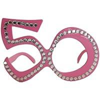 Folat - Occhiali Rosa 50 Con Strass