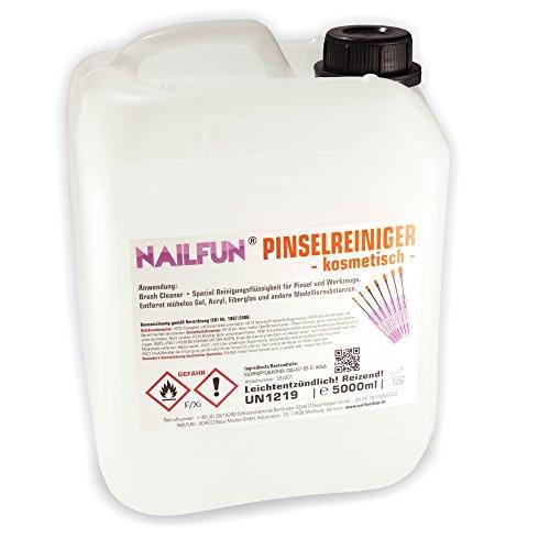 5 Liter Pinselreiniger im Kanister - 5000 ml Brush Cleaner für Pinsel und - Pinsel-reiniger Acryl