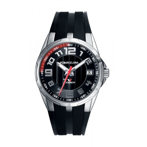 8d8eb5378d434 Viceroy 432606-55 – Reloj FC Barcelona Cadete quarzo negro