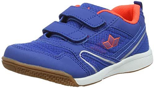 Lico Jungen Boulder V Multisport Indoor Schuhe, Blau/Orange, 32 (Orange Und Blaue Schuhe)