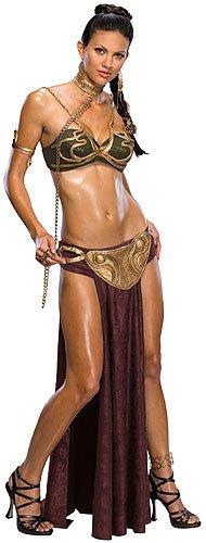 Star Wars Damen Kostüm Prinzessin Leia als Sklavin Größe XS