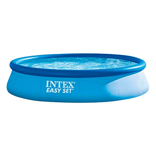 INTEX Easy Set Piscine Hors-Sol sans épurateur 396 x 84 cm Multicolore